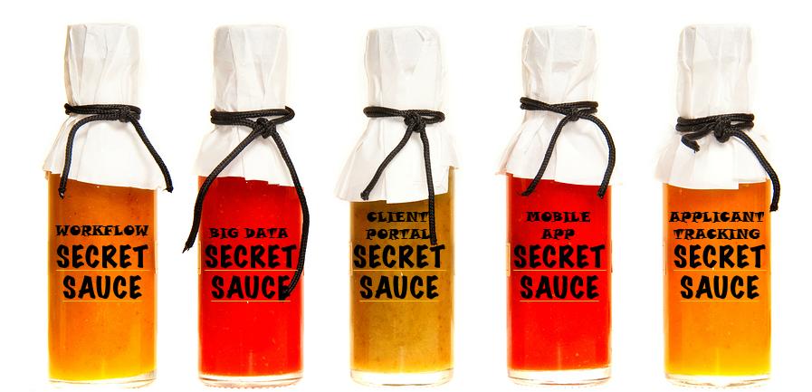 Secret Sauce for application development